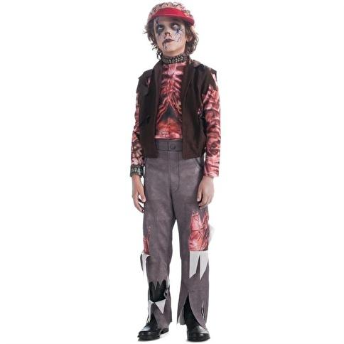 Rubies Zomboy Erkek Çocuk Kostümü 12-14 Yaş Renkli